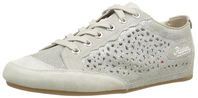 Womens L4828 Low-Top Sneakers Rieker Brand New Unisex Cheap Online Footlocker Cheap Price Enjoy 1Rf6Na