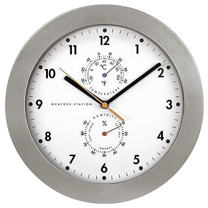 Hama PG-300 PG-300-Reloj de Pared (AA, Vidrio)