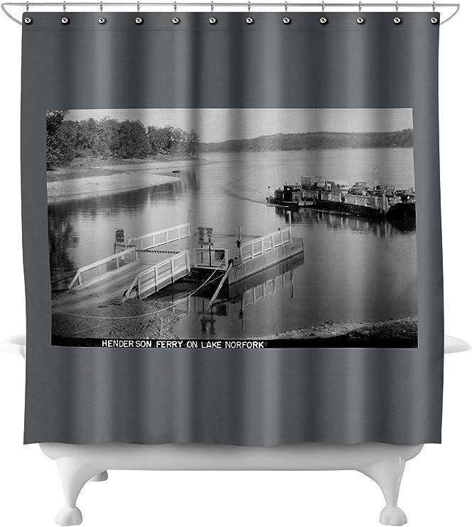 Arkansas Printed Shower Curtain Cover