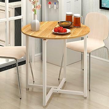 Amazonde Moderne Runde Tisch Home Küche Wohnzimmer Esstisch Balkon