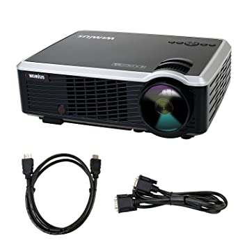 Videoproyector LED portátil Full HD de 3000 lúmenes: Amazon.es ...