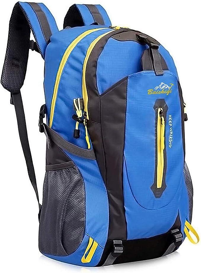 mochila de viaje de deportes al aire libre multifuncional liviana monta/ñismo camping mochila para hombres y mujeres Mochila de senderismo impermeable de 40 litros adecuada para ciclismo pesca