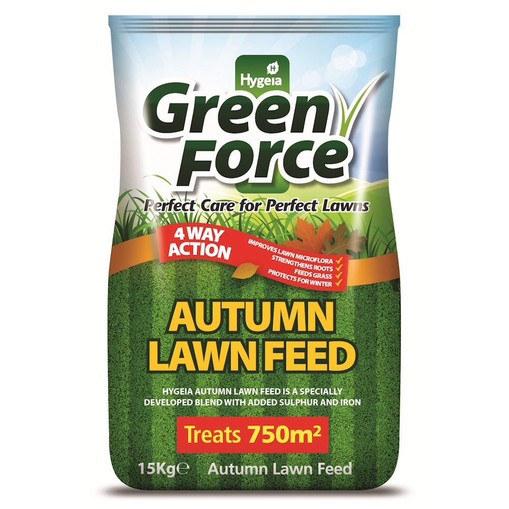 Greenforce Autumn Lawn Feed for Lawns 750m2 (15kg Bag) (G21027) Agrigem