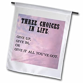 Amazoncom Xander Inspirational Quotes Three Choices In Life