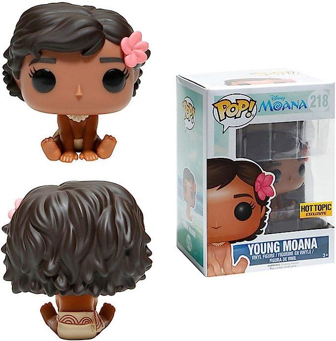 Funko – Figura Disney Vaiana/Moana – Young Moana, muñeca Moana sentada, Pop 10 cm, ref. 0889698114912: Amazon.es: Juguetes y juegos
