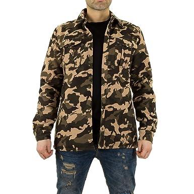 Camouflage jacke fur herren