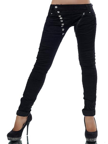 747d76b5fa4a Diva-Jeans - Vaqueros - boyfriend - Básico - para mujer: Amazon.es ...