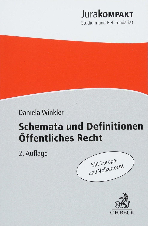 Schemata und Definitionen Öffentliches Recht: Amazon.de: Daniela ...