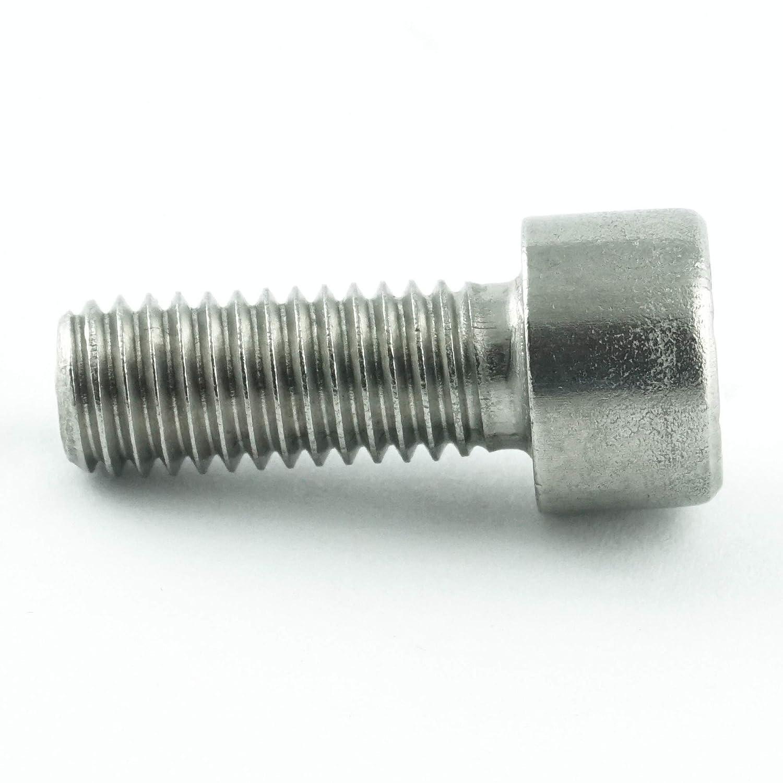 Edelstahl A2 V2A rostfrei DIN 912 Gewindeschrauben 10 St/ück Eisenwaren2000 Zylinderschrauben mit Innensechsrund TX M3 x 8 mm - Zylinderkopf Schrauben ISO 14579