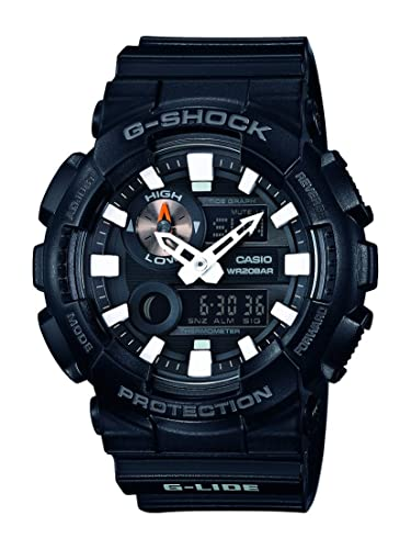 Casio Reloj Analogico-Digital para Hombre de Cuarzo con Correa en Resina GAX-100B