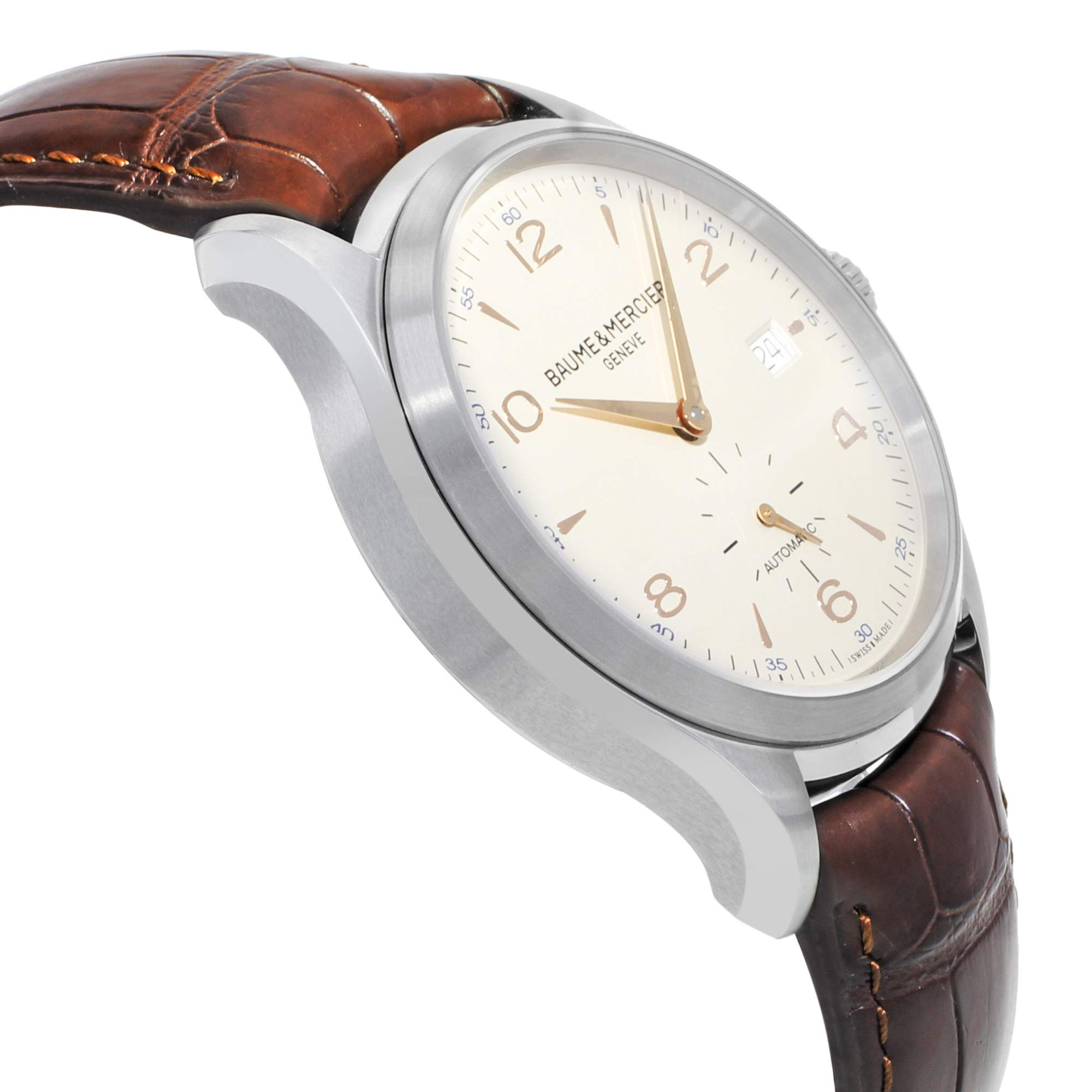 Baume & Mercier Clifton Automatic-self-Wind Male Watch MOA10054 (Certified Pre-Owned) by Baume & Mercier (Image #4)