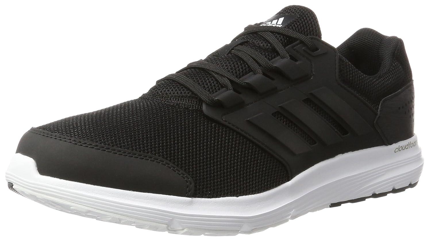 Adidas Galaxy 4 M, Zapatillas de Running para Hombre 42 2/3 EU|Negro (Core Black/Core Black/Core Black)
