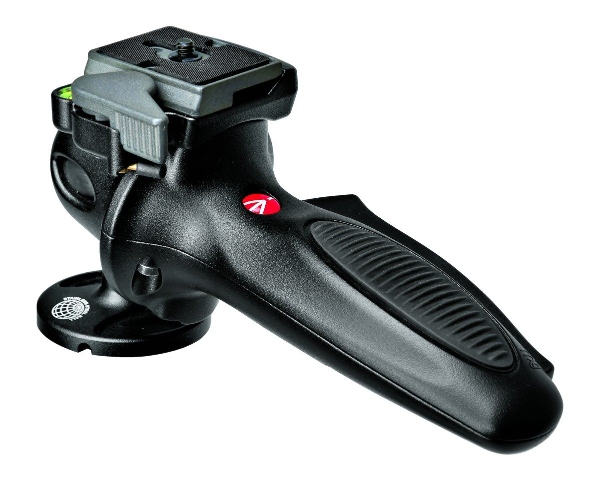 Manfrotto 327RC2 light duty grip ball head with Quick...