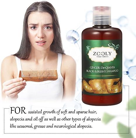Champú anticaída – luckyfine- Shampoo para Nutrición Cabello, evitar la pérdida de pelo, fortalece pelo, sin solfato, tratamiento pérdida de cabello para hombres y mujeres 400 ml: Amazon.es: Salud y cuidado personal
