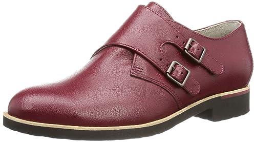 Rockport Alanda Monk Strap, Mocasines para Mujer, Rojo-Rot (Cordovan), 37.5 EU: Amazon.es: Zapatos y complementos