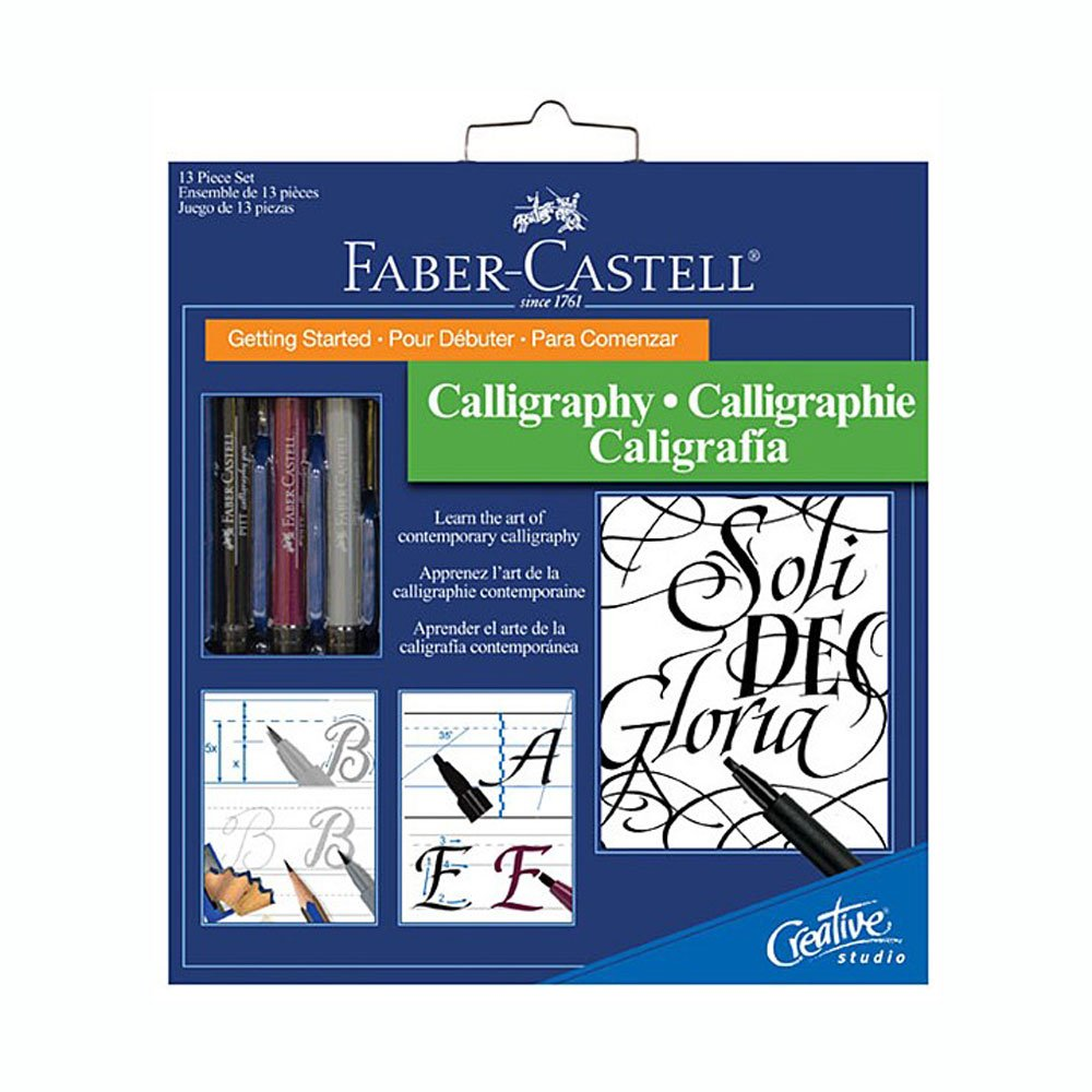 Faber-Castel Getting Started Calligraphy Kit by Faber Castell