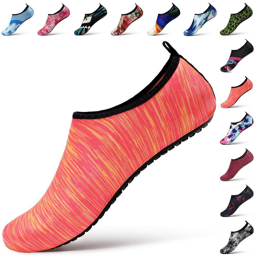 STEELEMENT. Water Yoga Shoes for Men Women Sports Socks Surfinf Shoes Stockings Hiking Climbing Swimming Athletic (S(US Size:Women:5.5-6.5,Men:5-5.5), WS34-36)