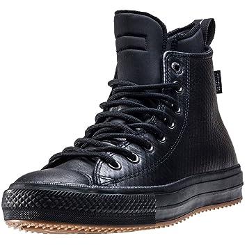 373326c43345a Converse Ctas Chuck Ii Leather Neoprene Damen Sneakers Black Black - 3 UK