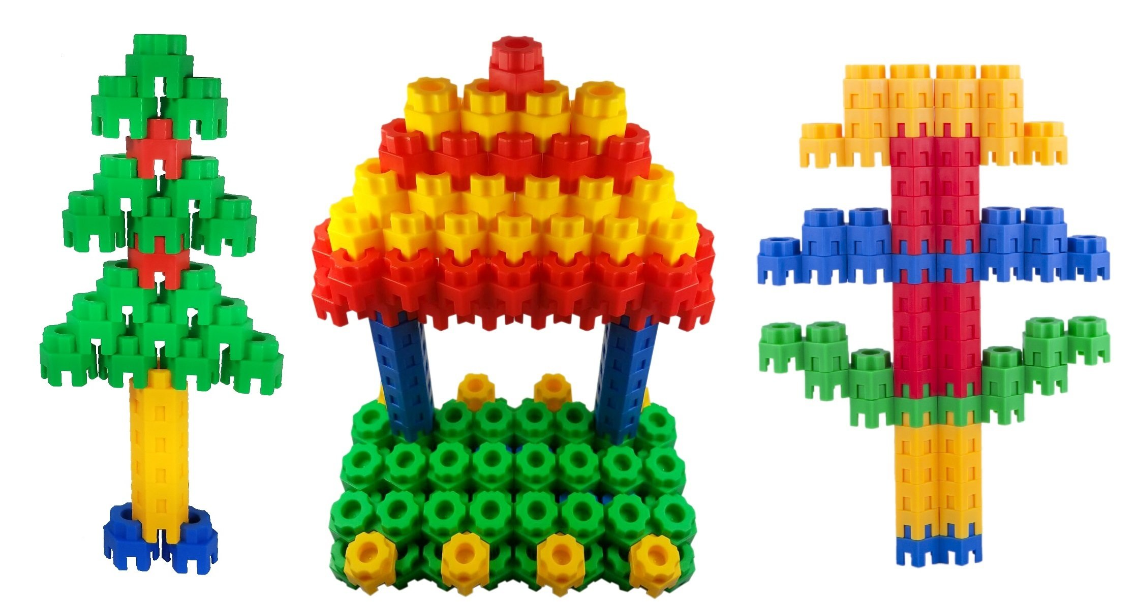 Building Blocks 144 pc Set by CTK Toys – Fun 3 4 and 5 year old