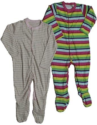 4819db705 krivi Kids Full Sleeve Cotton Romper Body Suit Set of 2 Body Suit ...