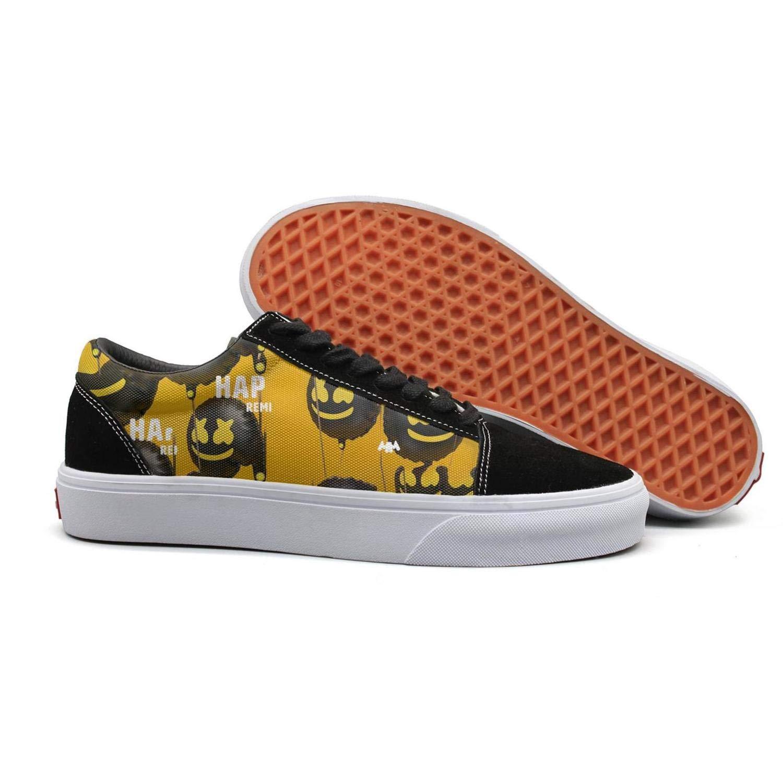 KDKASO Skateboard Shoes Slip on Sneakers Low top for Women