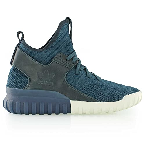 on sale a4e29 c000b adidas Mens Tubular X Knit Black Carbon Solid Grey Size EU 41 ...