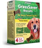 NaturVet – GrassSaver Biscuits for Dogs – Healthy Supplement to Help Rid Your Lawn of Yellow Spots – Enhanced with a…