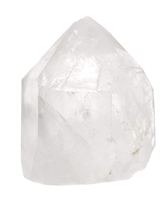 Crystal Quartz Point 100/% Authentic Brazilian Quartz Rough The Artisan Mined Series by hBAR Natural 6-11oz Specimen