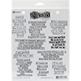 Ranger Dyan Reaveley's Dylusions Cling Stamp Collections, 8.5 by 7-Inch, The Right Words