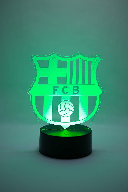 2020 Beste Dekoration f/ür Zuhause Kinder Originalzubeh/ör Damen Herren 2019 Offizielle 3D-Lampen mit Wappen des FC Barcelona Erwachsene Kinder tolles Geschenk f/ür Babys
