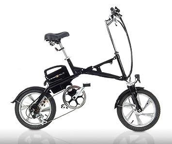 Cross Fold® fe16 Negro – Pedelec, Test Sieger múltiple, bicicleta plegable, también