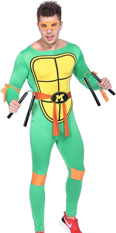 Amazon.com: 80s TV Show disfraz de teenage mutant ninja ...