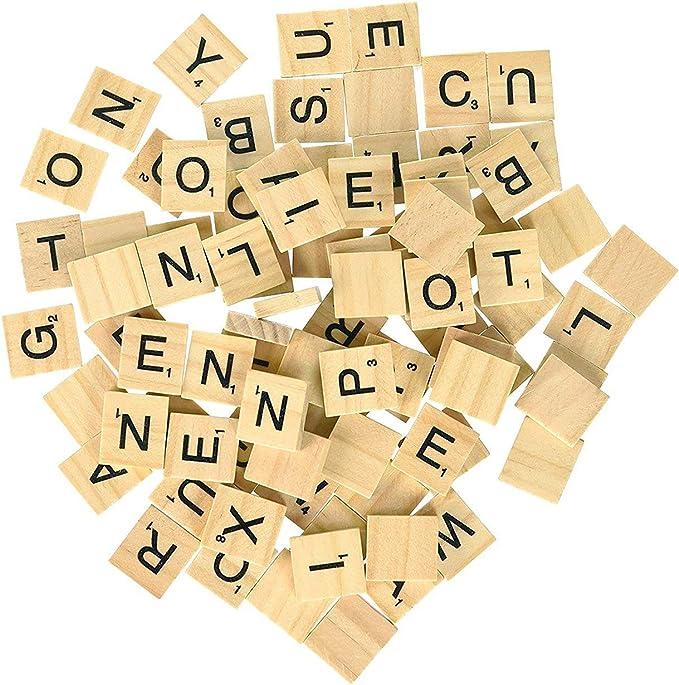 MysticalBoy 500 baldosas de Madera para Scrabble – Letras de Scrabble – Piezas de Madera – 5 Juegos completos – Ideal para Manualidades, Colgantes, ortografía por Clever Delights: Amazon.es: Juguetes y juegos