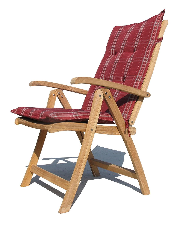 Teak Sessel Mit Kissen Rubin Gartenstühle Klappstuhl Teak Holz