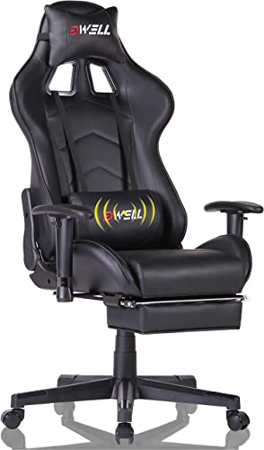 EDWELL Home Office Desk Chair Gaming Chair with Footrest