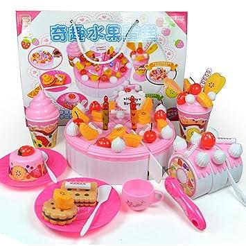 Amazon.com: 73 piezas Juegos de roles bonitos juguetes de ...