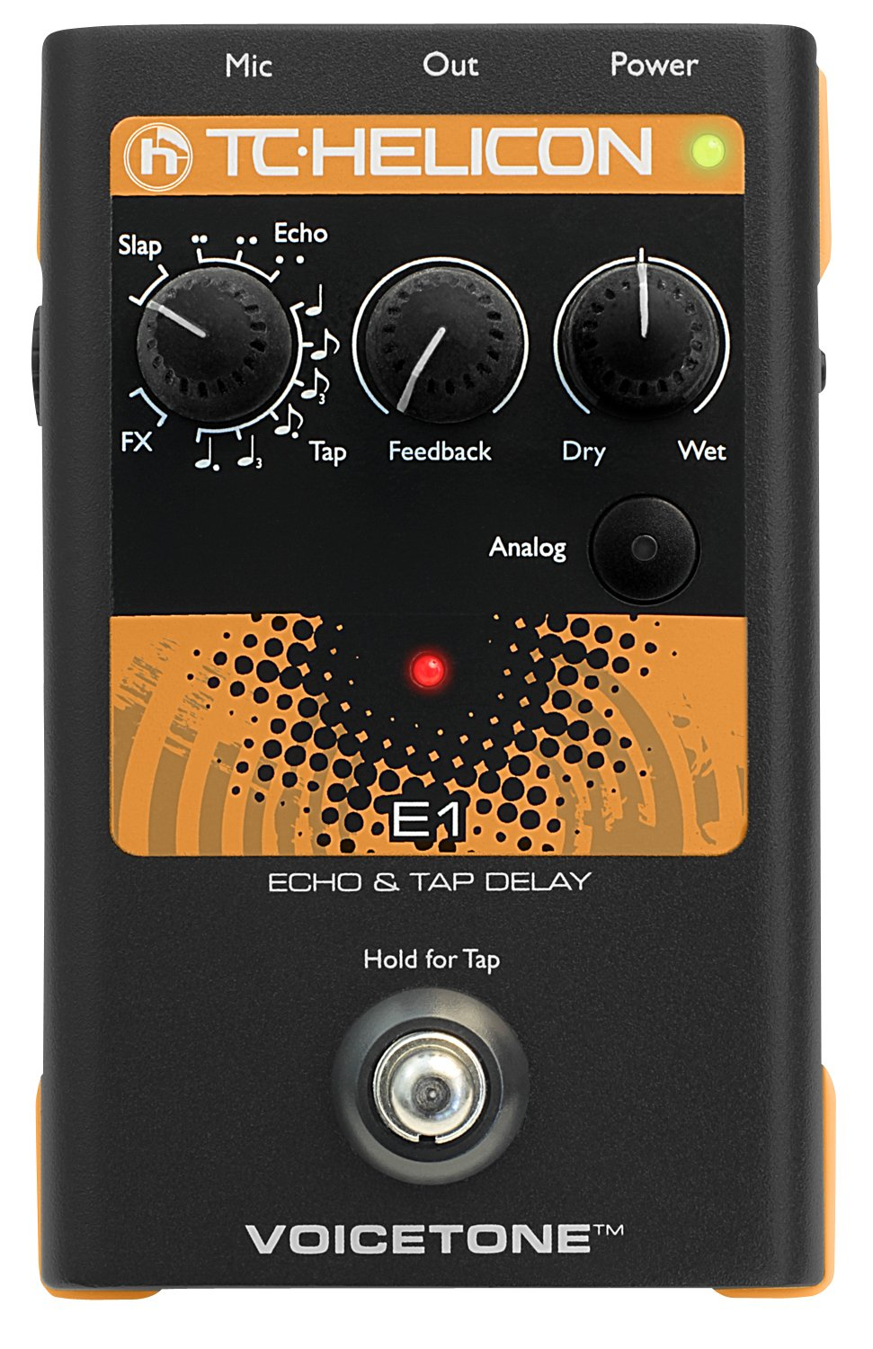 TC Electronic Singles VoiceTone E1 Vocal Effects Processor by TC-Helicon