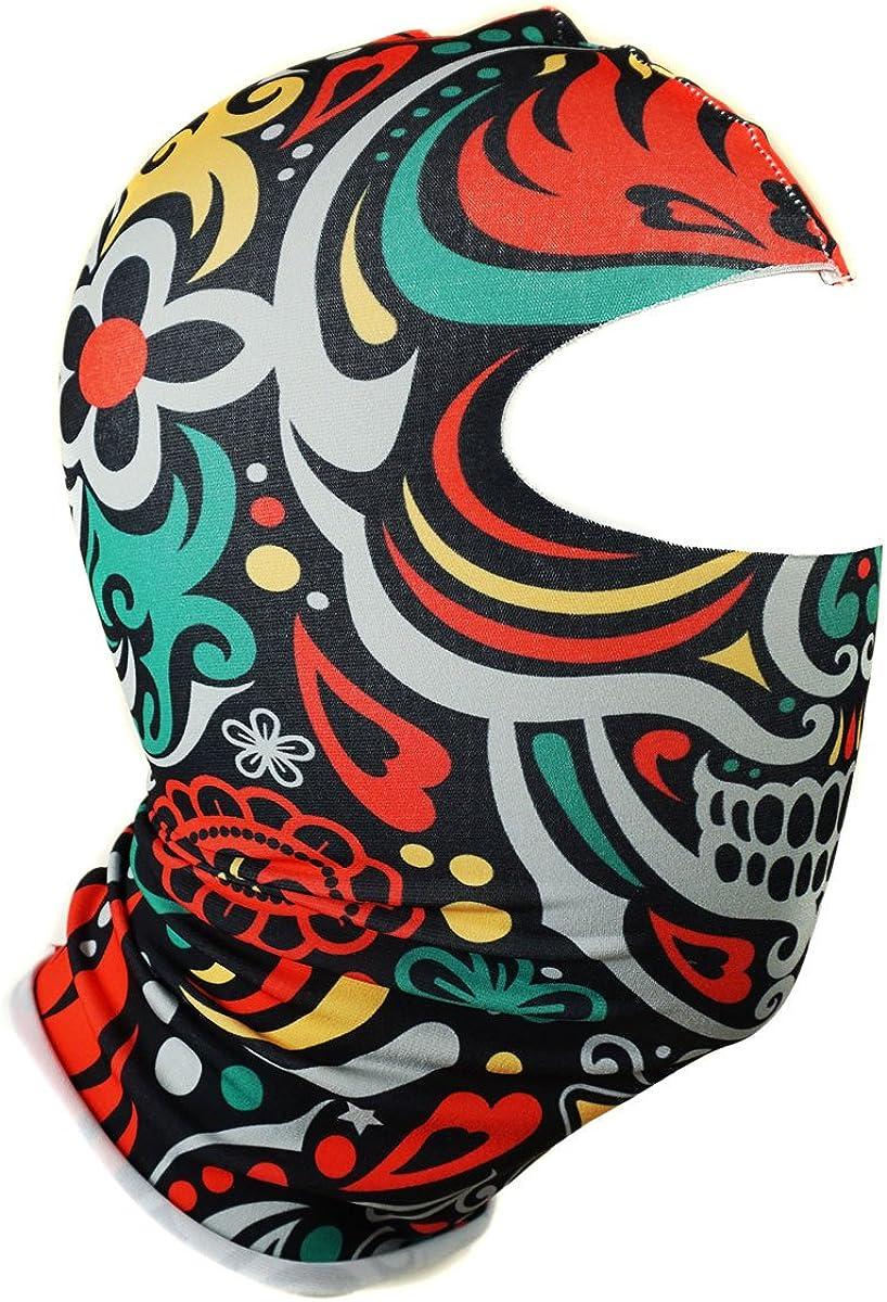 Multifunktionen Gesichtsmaske Kapuzenm/ütze Balaclava Skimaske Gesichtschutz Maske 076
