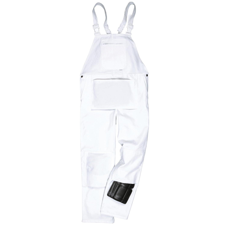 3 XL blanc Portwest S810/Bolton Cotte de travail /à bretelles pour peintre
