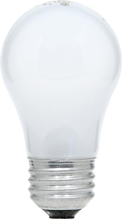 SYLVANIA Home Lighting 10015 Incandescnet Bulb, A15-15W-2500K, Soft White Finish, Medium Base, Pack of 2 - - Amazon.com