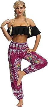 JWTX - Pantalones de chándal para Mujer (elásticos, con Bolsillo ...