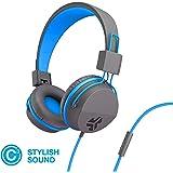 JLab Audio Neon Folding On-Ear Headphones   Wired Headphones   Tangle Free Cord   Noise Isolation   40mm Neodymium Drivers  
