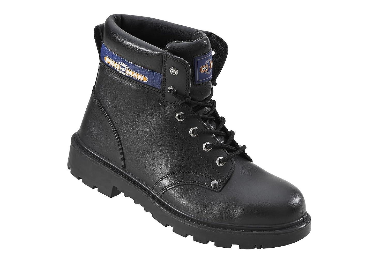 ce0f128fd Amazon.com  Pro-Man PM4002 Men s S3 Outsize Black Steel Toe Cap Safety   Work  Boots  Shoes