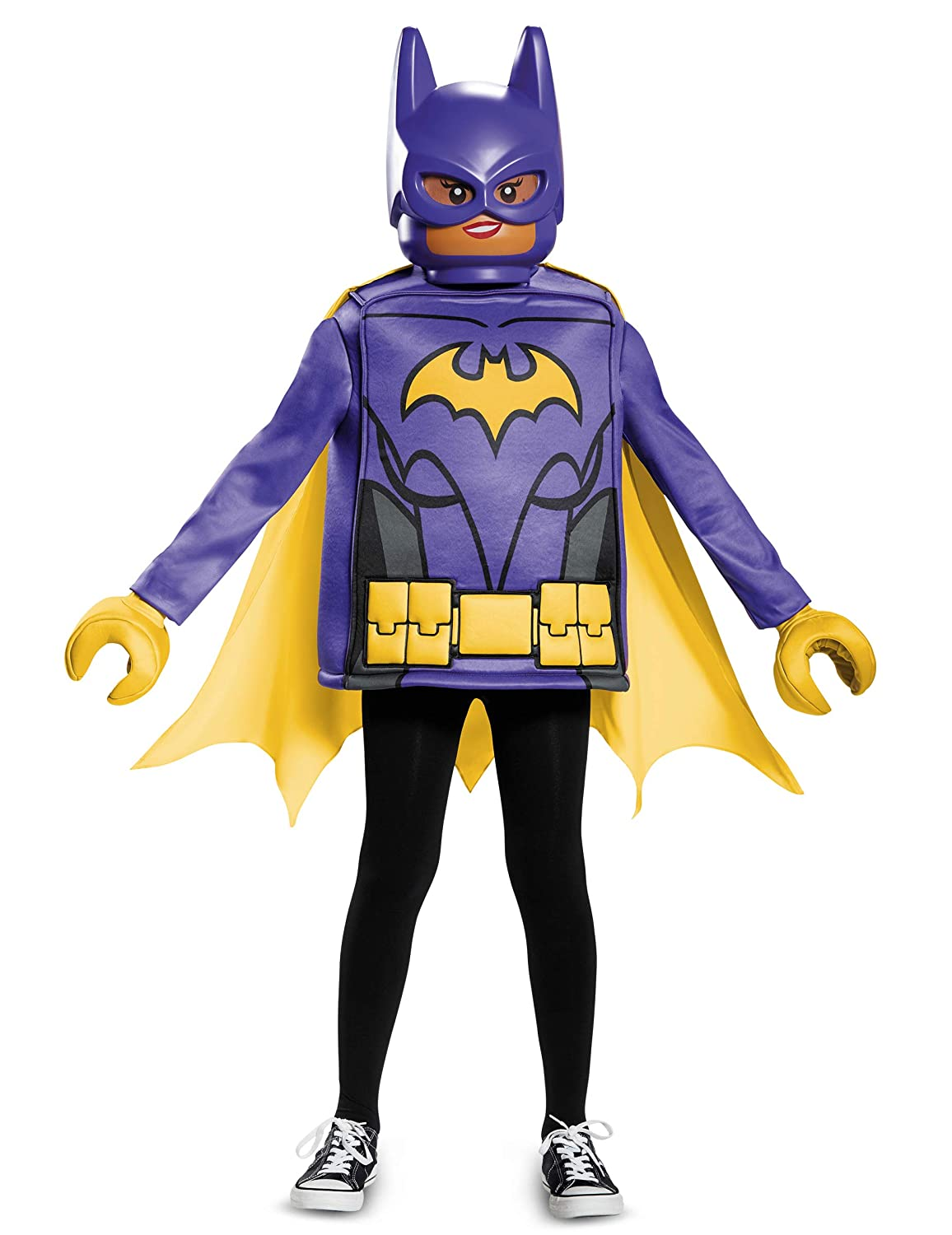 Disfraz clásico Batgirl LEGO movie niña 7-8 años (122/128): Amazon ...