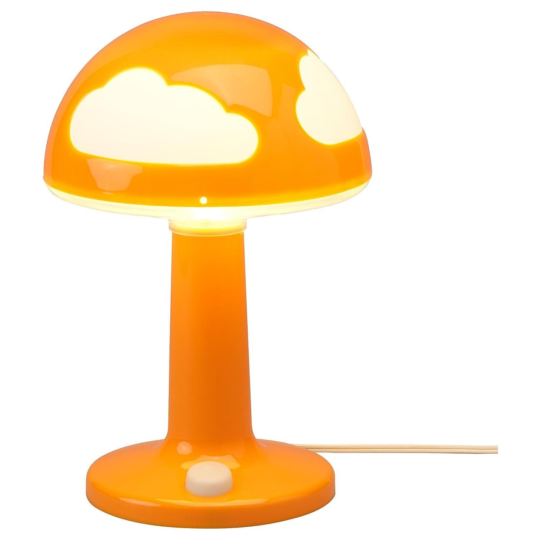 Wonderful IKEA SKOJIG Childrenu0027s Orange Polypropylene Table Desk Lamp Bundle With 2 X  HALOGEN G4 20W Bulb Bedroom Light. Kids Lamp Christmas Gift Birthday Gift:  ... Pictures