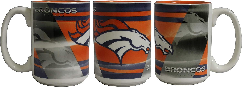 Memory Company NFL Denver Broncos 15oz Shadow Mug