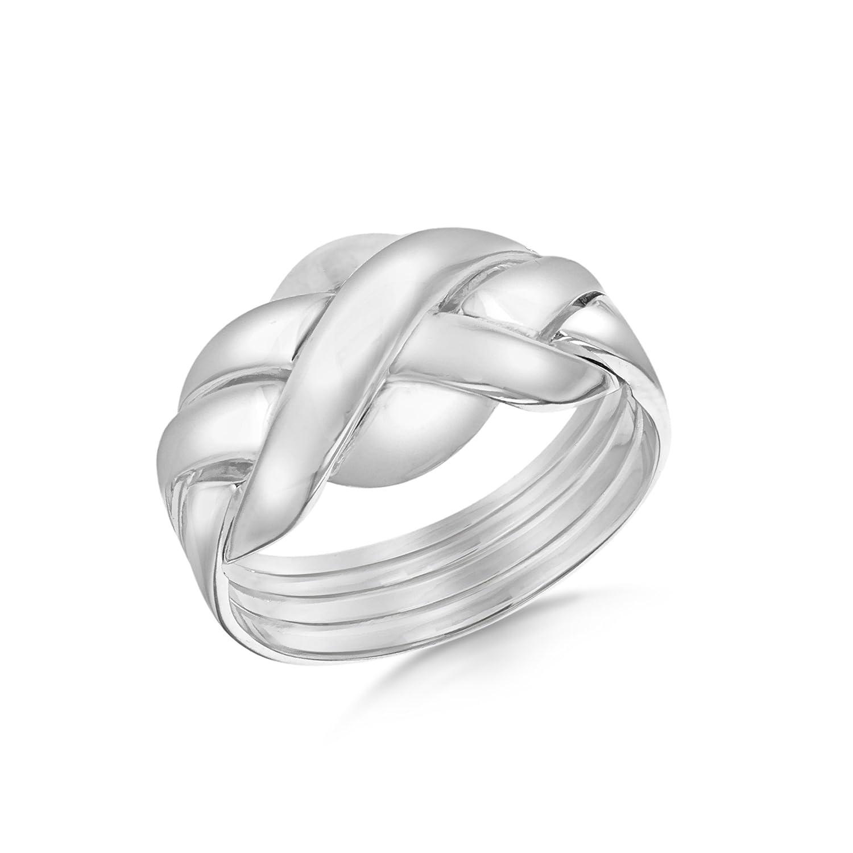 Tuscany Silver Anillo de plata de ley  sin gema