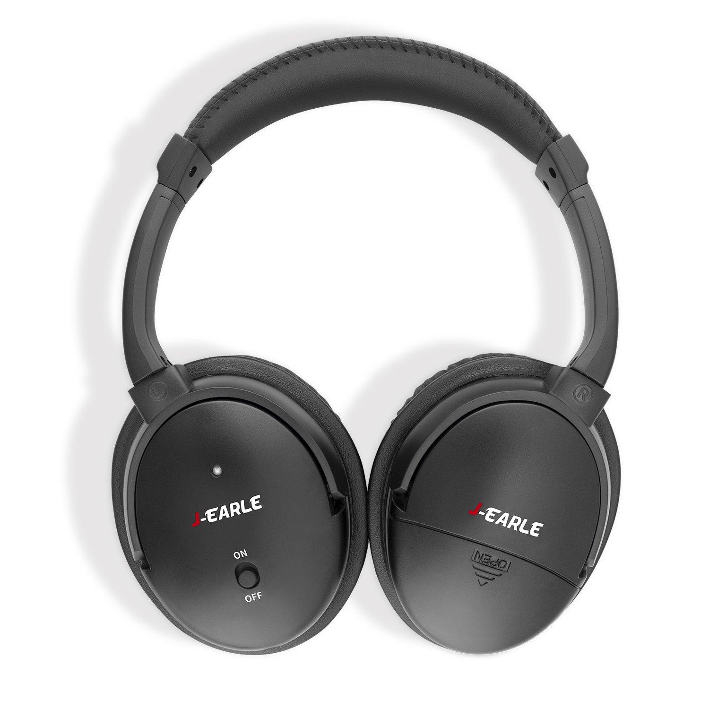 j-earle Akku Active Noise Cancelling Kopfhörer: Amazon.de: Elektronik