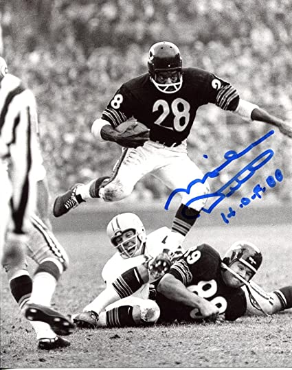 3b71971c3ca Image Unavailable. Image not available for. Color  MIKE DITKA signed ...