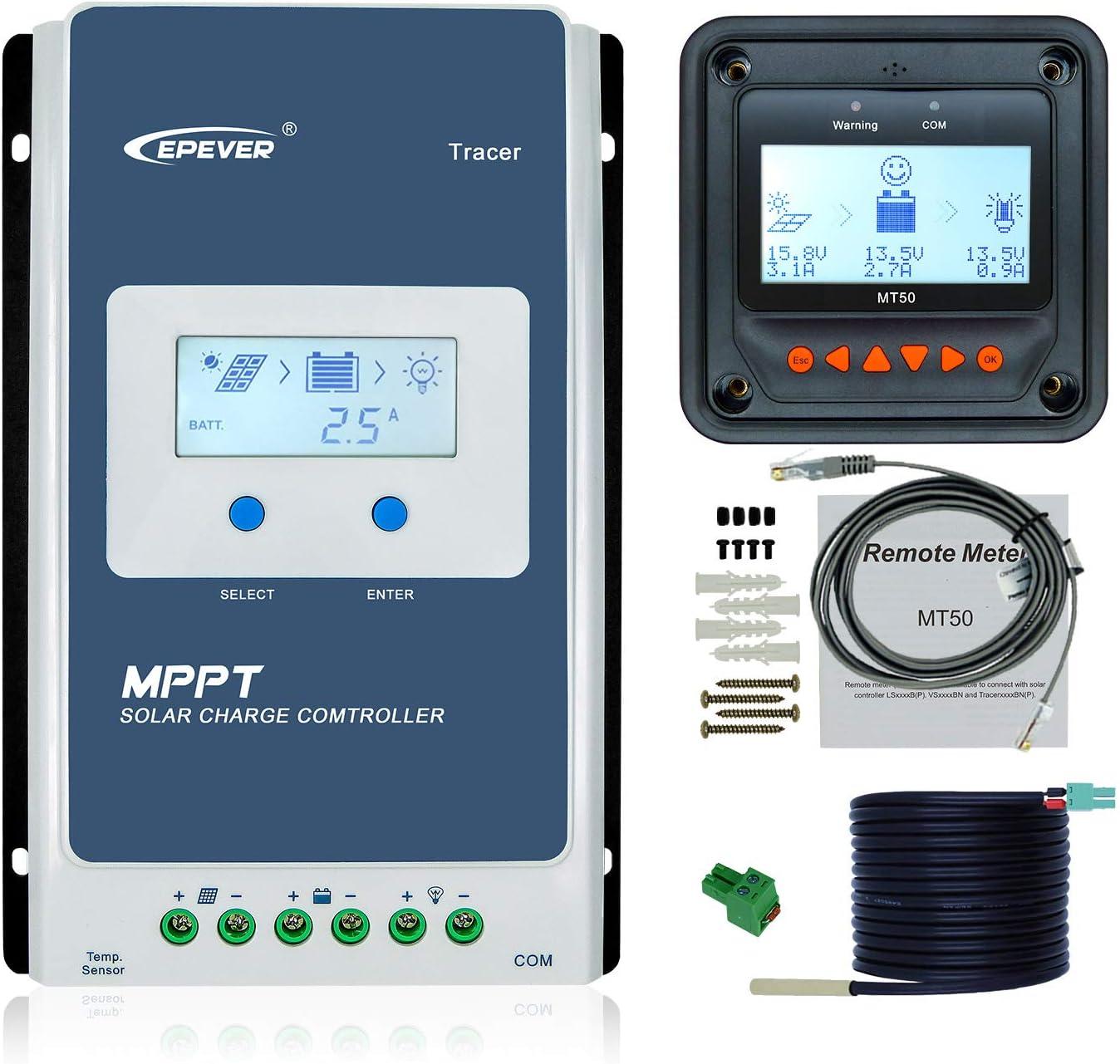 LDSOLAR MPPT Tracer Solar Controller//Regulator 40A 40 AMP Caravan Solar 12v 24v